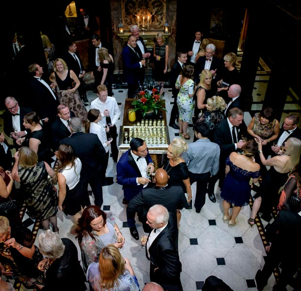 10th Anniversary Celebration at Crewe Hall - Guests